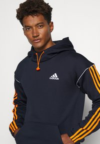 adidas Performance - Hoodie - legend ink/signal orange - 4
