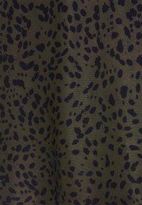 someday. - OLANDA LEO - A-line skirt - blended oliv - 2