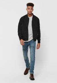 Only & Sons - ONSJACK  - Giubbotto Bomber - black - 1