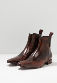 Jeffery West - ESCOBAR PLAIN CHELSEA - Classic ankle boots - college mid brown - 2
