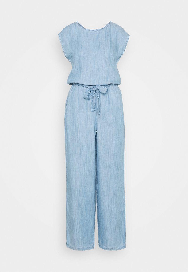 Esprit - OVERALL - Jumpsuit - blue bleached