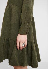 Kaffe - KACORINA DRESS - Kjole - grape leaf - 6