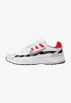 P-6000 - Sneakers laag - white/particle grey/university red/neutral grey/black