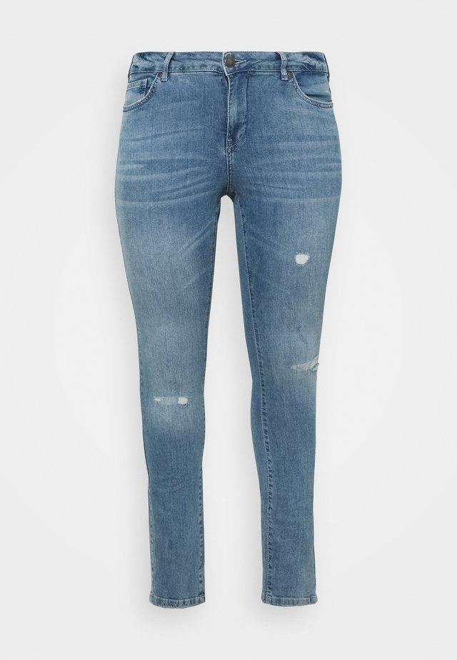 SANNA SHAPE - Jeans Skinny Fit - light blue denim