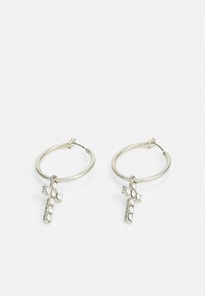 CHARM EARRINGS - Earrings - silver-coloured