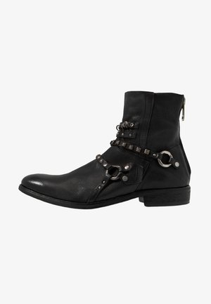 MASON - Cowboy/biker ankle boot - nero