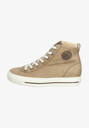 Sneakers hoog - beige
