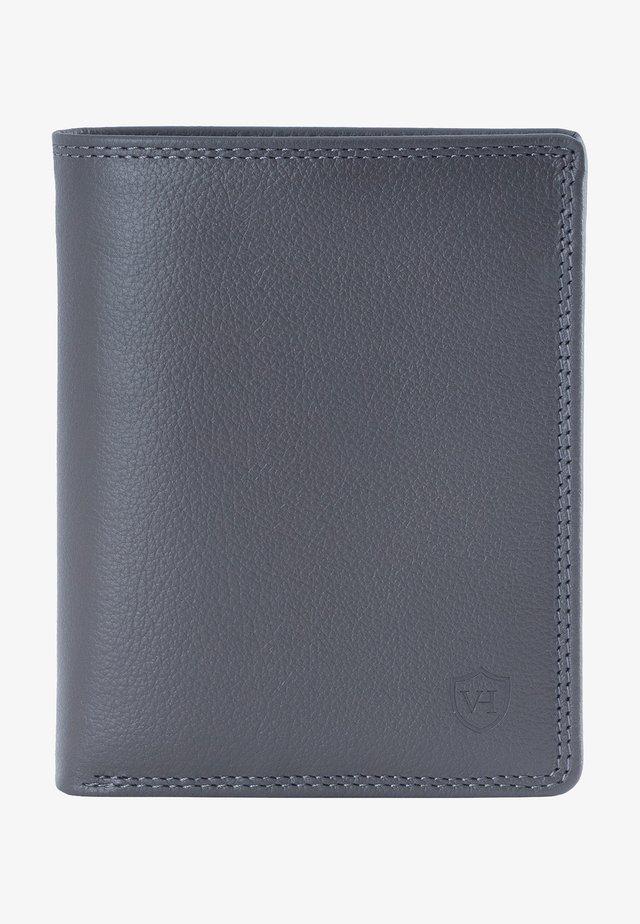 MIT 12 KARTENFÄCHERN - Wallet - grau(genarbt)