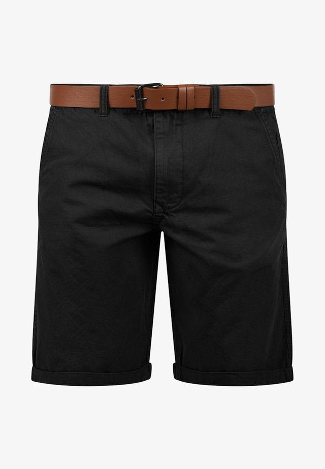 CHINOSHORTS MONTIJO - Shorts - black