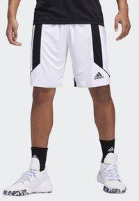 adidas Performance - CREATOR 365 SHORTS - Sports shorts - white/black - 0