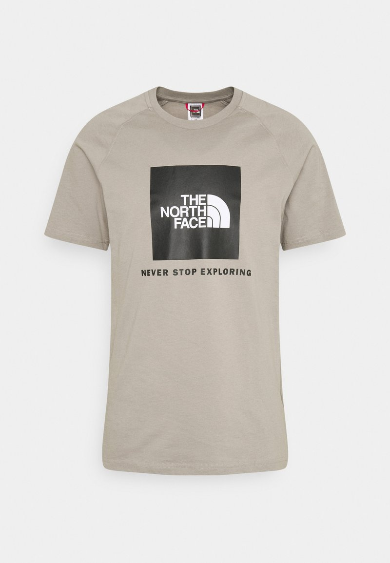 The North Face - T-shirt z nadrukiem - mineral grey