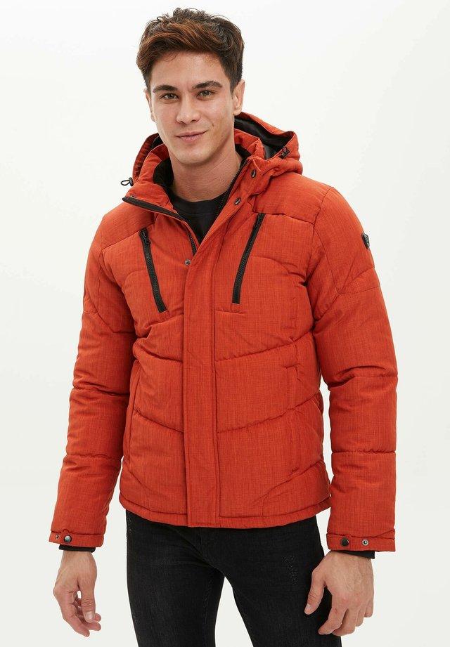 Kurtka zimowa - orange