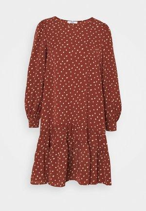 ONLCHERYL DRESS - Day dress - red