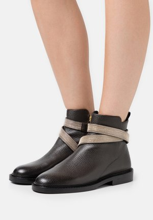 CHAIN AVE - Classic ankle boots - dark brown
