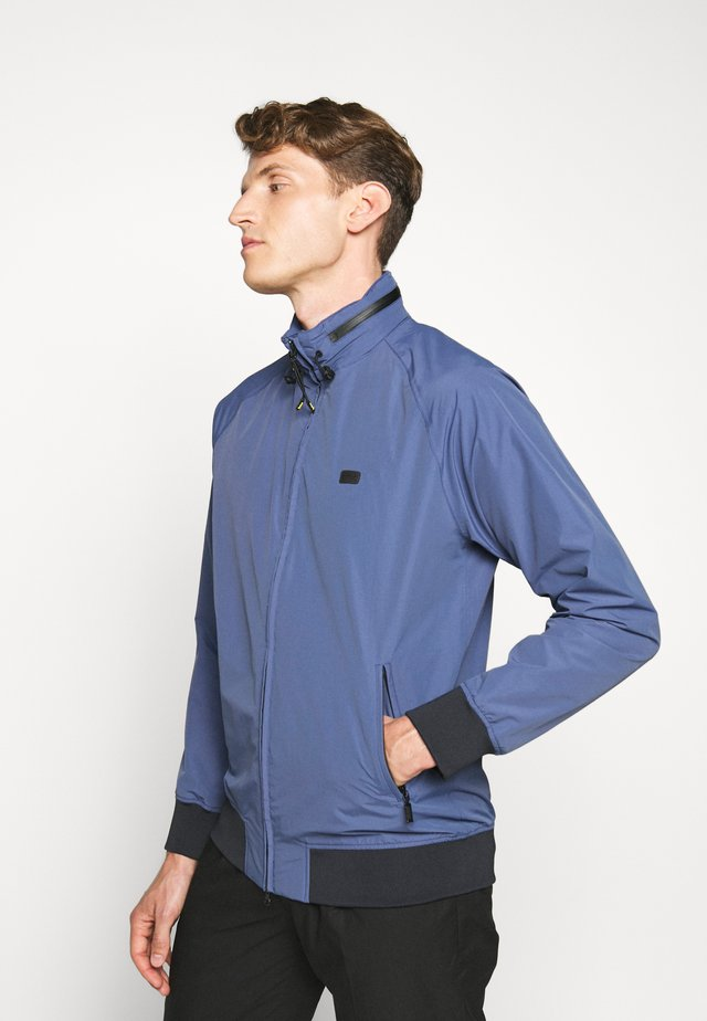 ILLFORD JACKET - Summer jacket - blue metal