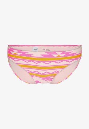 BASIC PRINT - Bikiniunderdel - bright pink