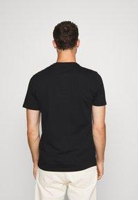 GAP - BASIC ARCH 2 PACK - Print T-shirt - blue black - 3