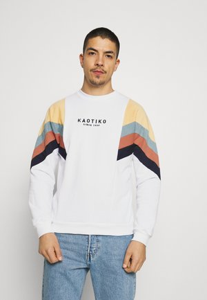 CREW SEATTLE UNISEX - Sweatshirt - white