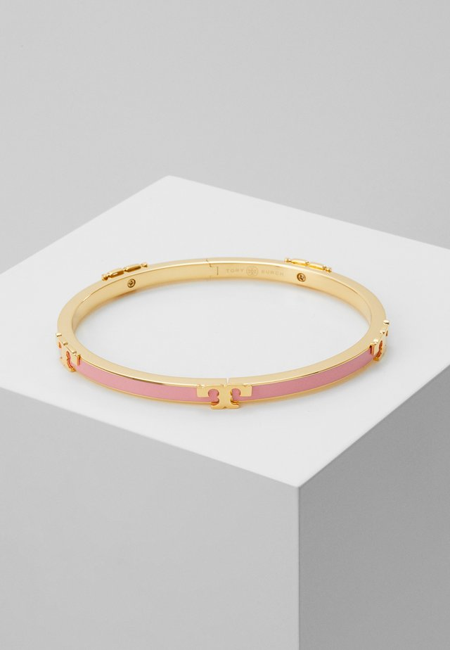 SERIF STACKABLE BRACELET - Armband - tory gold-coloured/pink city