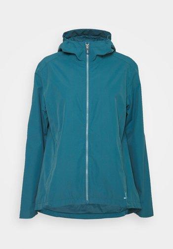 Hardshell jacket - mallard blue