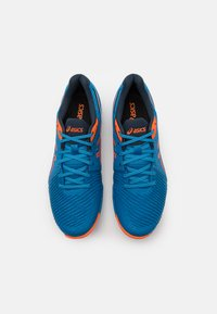 ASICS - NETBURNER BALLISTIC - Scarpe da pallavolo - reborn blue/marigold orange - 3