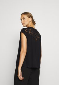 Desigual - LISBOA - T-shirt basic - black - 2