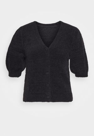 SHORT SLEEVE - Cardigan - black