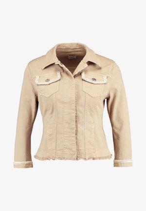 GIUBBINO IDEAL - Denim jacket - tan