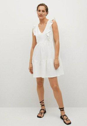 JURK - Korte jurk - gebroken wit