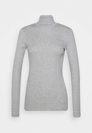 TURTLE NECK - Topper langermet - grey