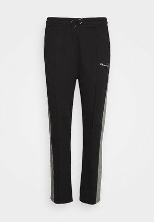 CHECK TAPE  - Pantalon de survêtement - black