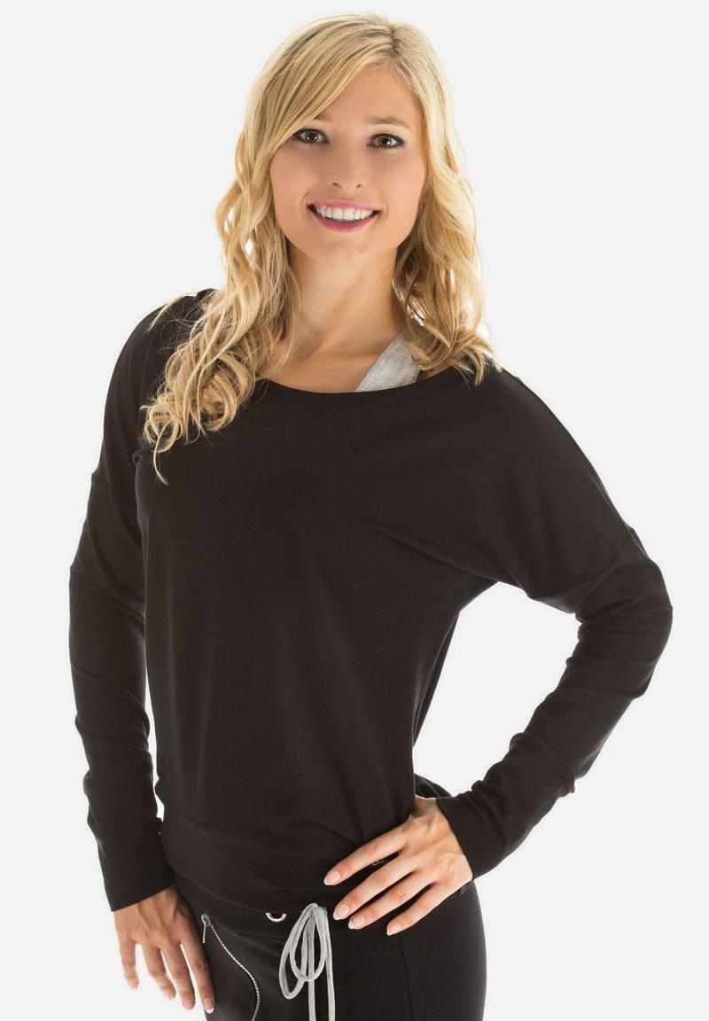 Winshape - LONGSLEEVE - Sweatshirt - schwarz
