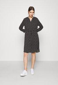 Selected Femme - SLFDAMINA  DRESS  - Skjortekjole - black - 1