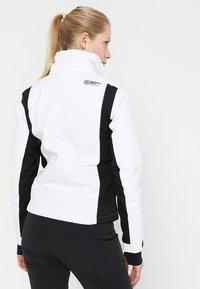 Superdry - SLEEK PISTE SKI JACKET - Ski jacket - white - 4