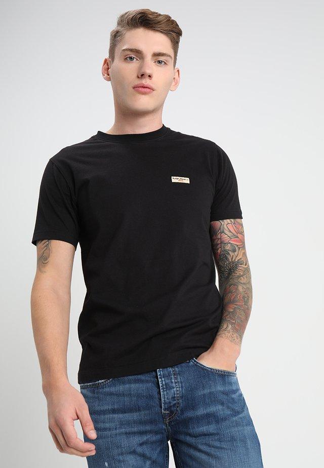 DANIEL - T-shirt imprimé - black