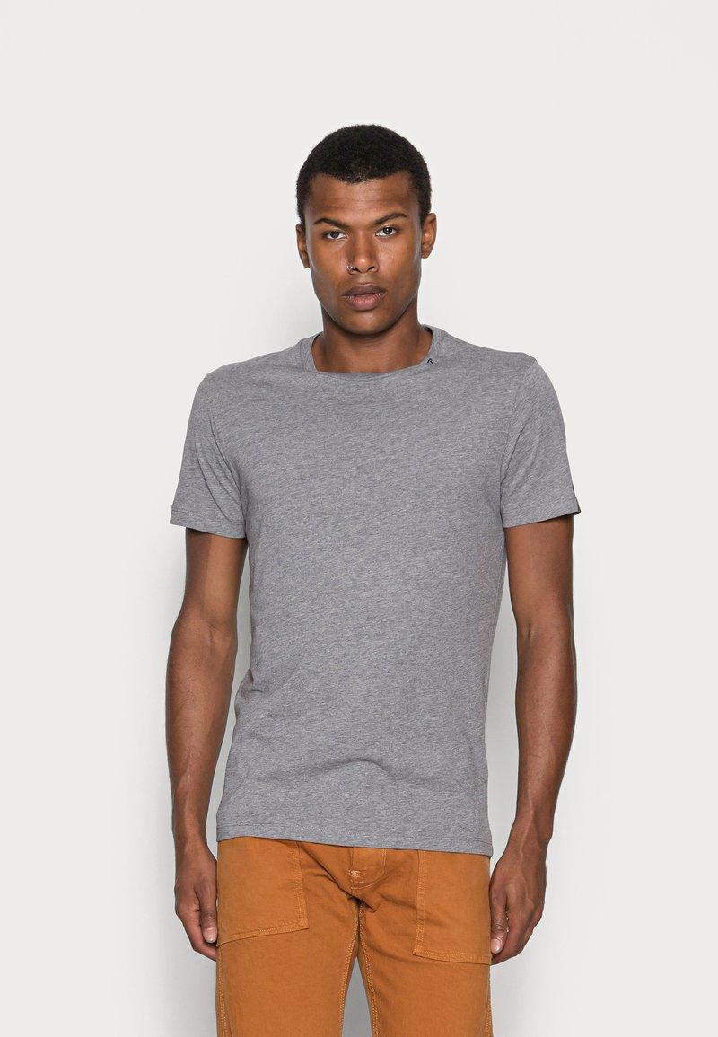 Replay - SHORT SLEEVE - Basic T-shirt - grey melange