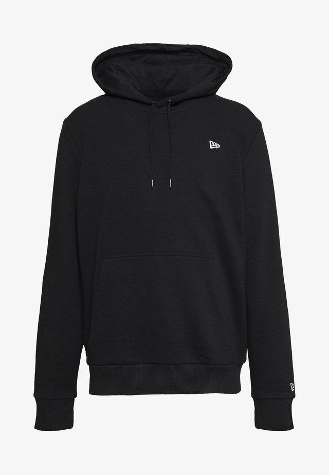 NEW ERA ESSENTIAL FLAG HOODY - Zip-up hoodie - black