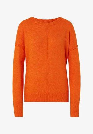 COSY CREW NECK  - Jumper - caramel orange