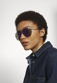 Superdry - HUNTSMAN - Sunglasses - matte black - 1