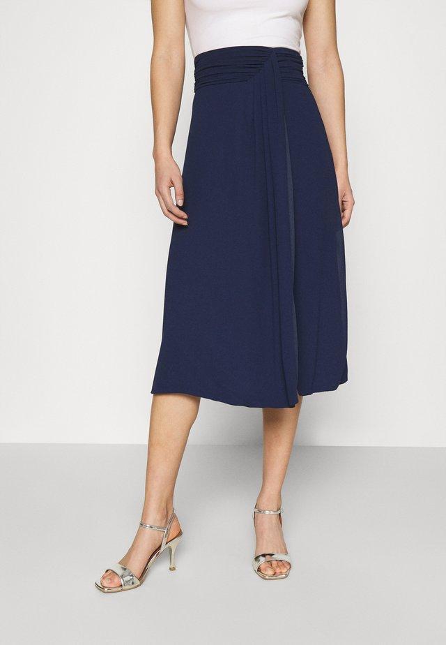 ZADA SKIRT - A-line skirt - navy