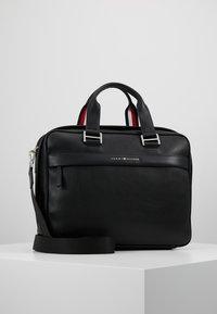 Tommy Hilfiger - BUSINESS COMPUTER BAG - Aktovka - black - 0