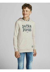 Jack & Jones Junior - Collegepaita - white melange - 1