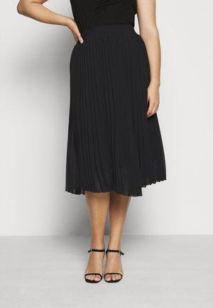 CARNEWSARAH CALF SKIRT - A-line skirt - black