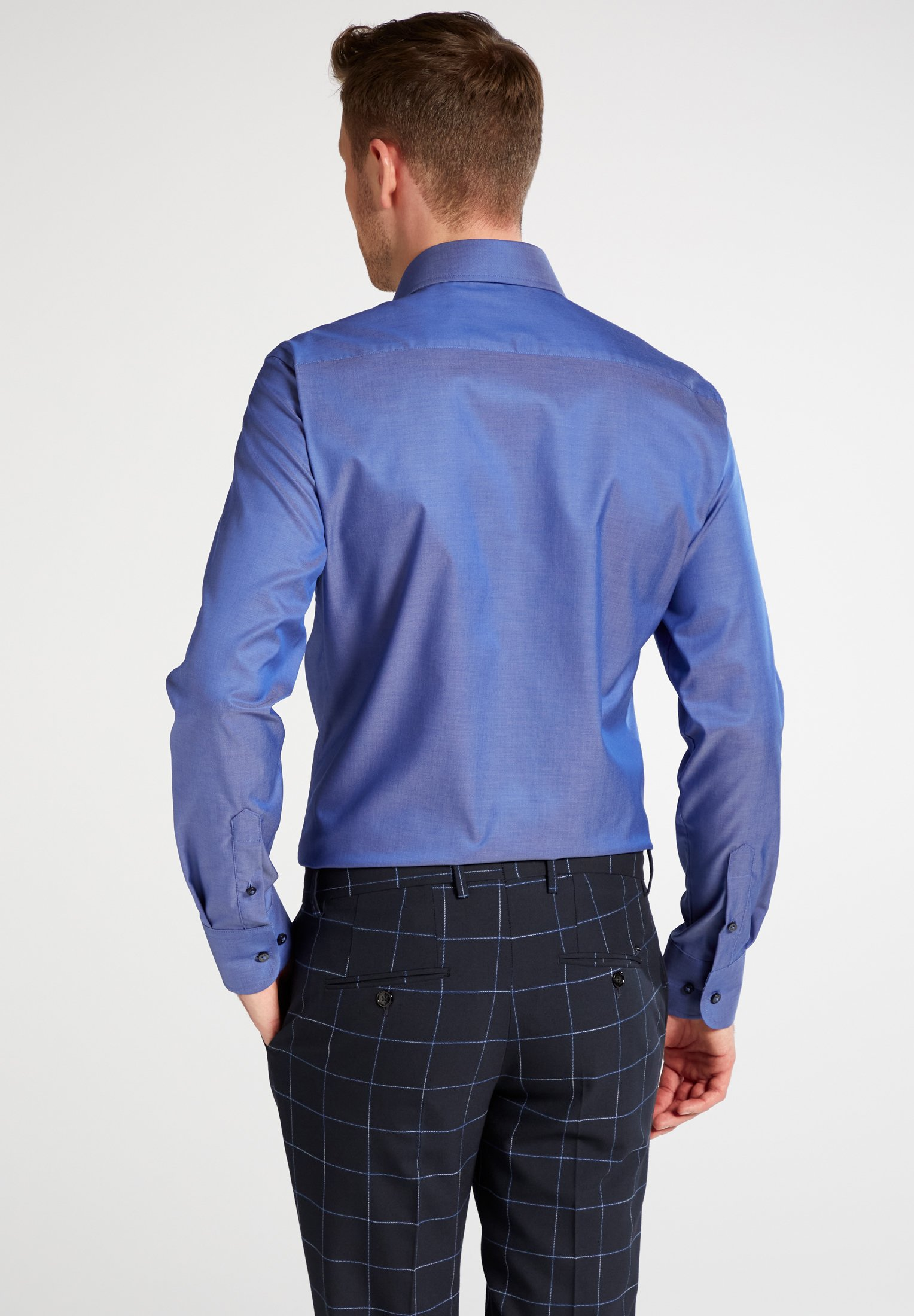 Eterna SLIM FIT - Chemise - blue