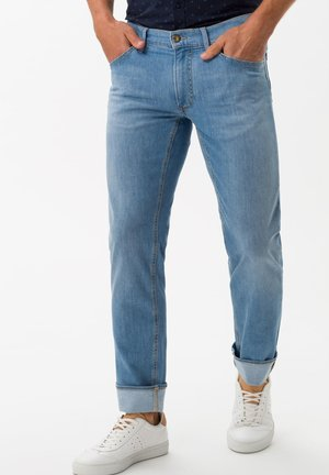 STYLE CHUCK - Slim fit jeans - summer blue used