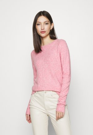 VMCLOUD NECK - Jumper - wild rose/melange
