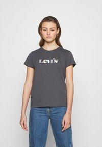 Levi's® - THE PERFECT TEE - T-shirts print - blackened pearl - 0