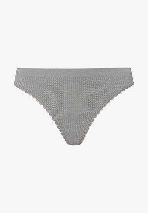 BRAZILIAN SEAMLESS LOOP - Bikini bottoms - grey