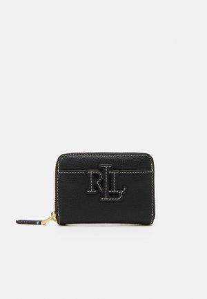 LOGO ZIP WALLET SMALL - Wallet - black