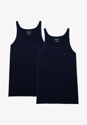 2 PACK - Undershirt - navy